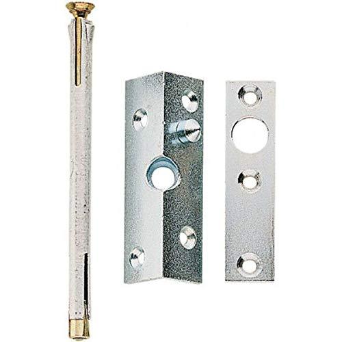 ASSA ABLOY Winkel-Bändersicherung mit Anker - mit massiven Stahlzapfen - als Zusatzsicherung für Türen
