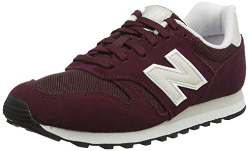 New Balance Damen 373 Sneaker, Rot (Nb Burgundy/Moonbeam Mgg), 41 EU