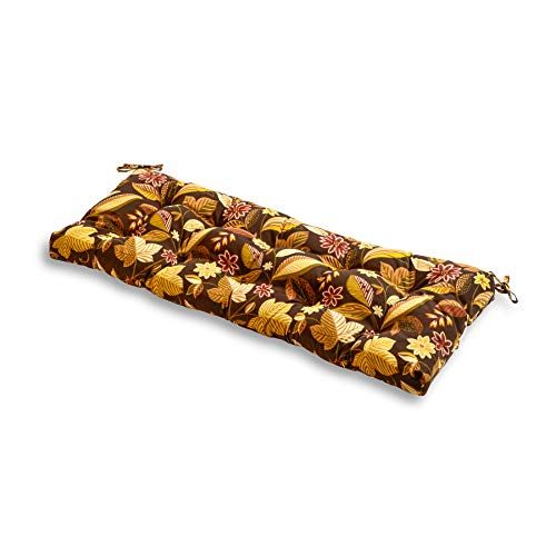 South Pine Porch AM4805-TIMB Timberland Floral 44-inch Outdoor Swing/Bench Cushion