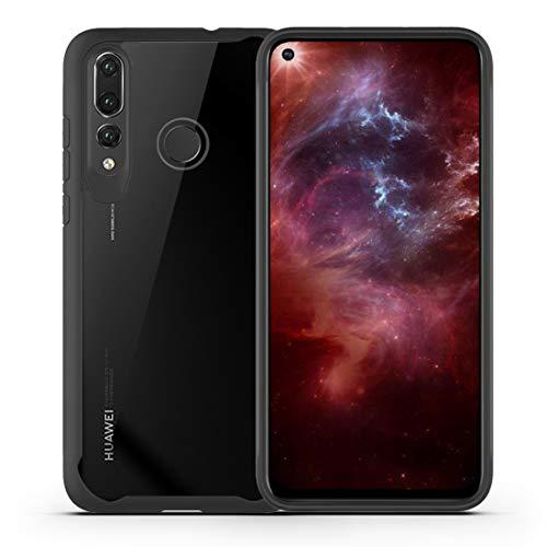 A/M Huawei-Handyfall JRC Transparent PC + TPU Vollständige Abdeckung Stoß- Schutzhülle for Huawei Nova 4 (schwarz) Huawei Erweiterte Stoß- Rückfall (Color : Black)