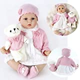 ZIYIUI Reborn Dolls 22 Inches 55 cm That Looks Real Baby Doll Lifelike