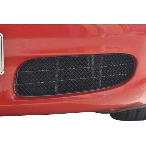Zunsport Compatible with Porsche Boxster S 986 - Outer Grill Set - Black Finish (1996 to 2004)
