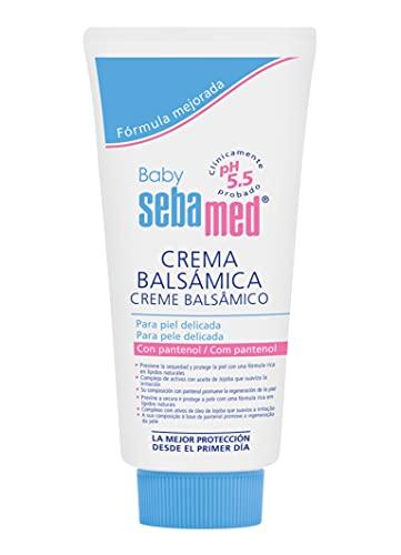 SEBAMED Baby Crema Balsámica, Para Pieles Sensibles Y Eccema Atópico, Prevención De La Dermatitis Del Pañal, Cuidado Intensivo Y Protección Para La Delicada Piel Del Bebé, Multicolor, 300 Mililitro