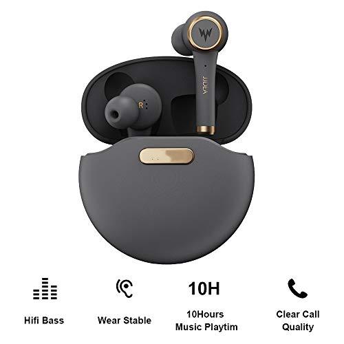 Tiao wasserdichte drahtlose Ohrhörer, Bluetooth 5.0 drahtlose Kopfhörer 128H Wiedergabezeit Hallo-Fi-Stereo, IPX7 wasserdicht In-Ear-Funkkopfhörer mit Mikrofon 1100mAh Gehäusen
