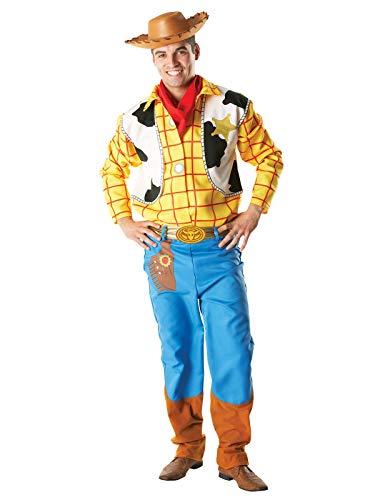 Rubies's-Disfraz Oficial de Woody de Toy Story, Disfraz para Adultos-tamaño estándar