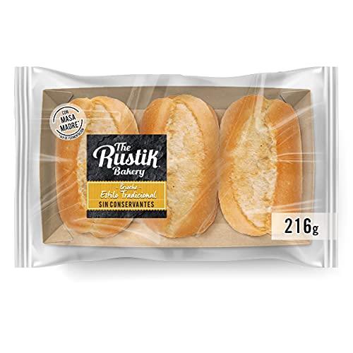 The Rustik Bakery Brioche con masa madre. 6uds 216gr
