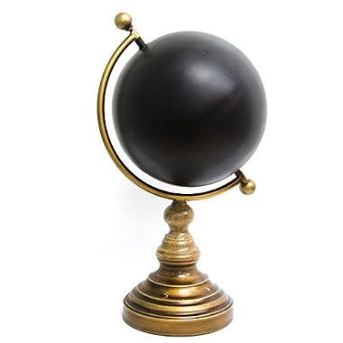 Stratton Home Decor Chalkboard Globe Table Top, Multicolor