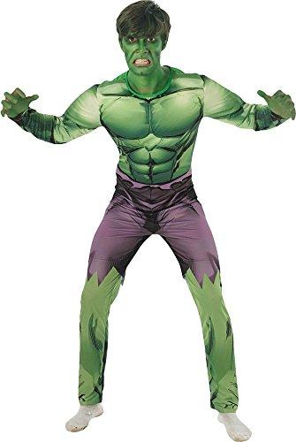 Rubie's-déguisement officiel - Marvel- Déguisement Hulk Adulte- Taille Unique- I-887430STD
