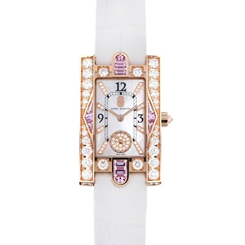 ハリー・ウィンストン HARRY WINSTON アヴェニュー クラシック オーロラ AVEQHM21RR125 ホワイト文字盤 新品 腕時計 レディース (W206985) [並行輸入品]