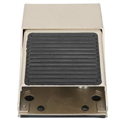 Pedal de acción, interruptor de pedal resistente y duradero para equipos textiles de líneas de montaje