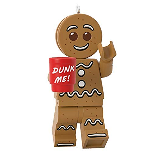 Hallmark Keepsake Christmas Ornament 2020, LEGO Gingerbread Man Minifigure