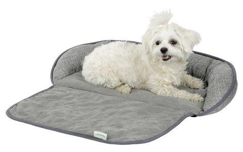 """Kerbl Couchkissen """"Emalia"""" für Hunde und Katzen, schützt die Couch vor Haaren und Schmutz, in grau, in Zwei Größen (98 x 66 cm)"""