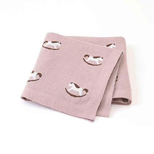 NO BAND babydekens gebreide katoen pasgeborenen kribbe deken schattige baby-jongens-meisjes-pazi-mand-afdekkingen 100 * 80 cm kinderquilts