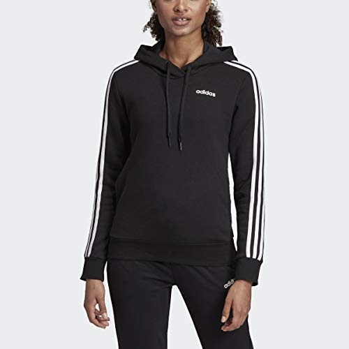 adidas Women's Essentials 3-stripes Fleece Hoodie Sweatshirt