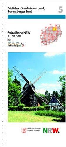 Freizeitkarte Nordrhein-Westfalen, Bl.5, Südliches Osnabrücker Land, Ravensberger Land