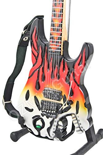 Jimmy Diresta ESP Screaming Skull - Guitarra en miniatura