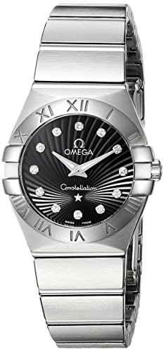 Orologio Donna Quarzo Omega display Analogico cinturino Acciaio...