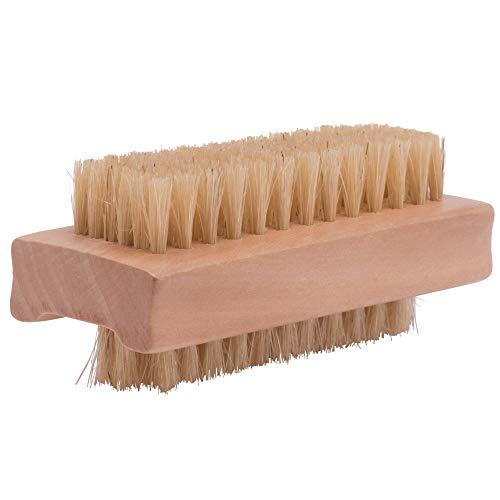 PARSA BEAUTY Doppelseitige Holz-Bürste Nagelbürste Handwaschbürste Ärztebürste für Bad, WC, Waschbecken, Werkstatt, Garten
