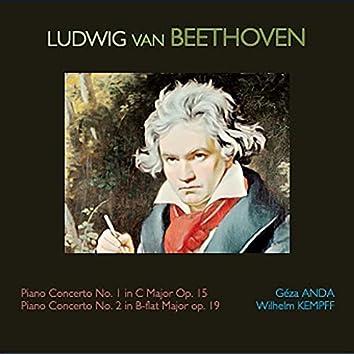 Piano Concerto No.1 in C Major Op.15 · Piano Concerto No.2 in B-flat Major Op.19