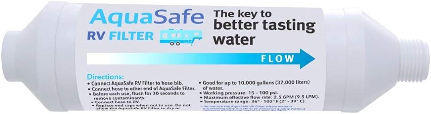 AquaSafe RV Filter  The Key to Better Tasting Water for Your Boat or RV