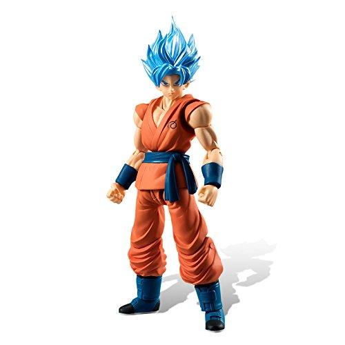 Dragon Ball Z Shodo SSGSS Son Goku Action figure standard