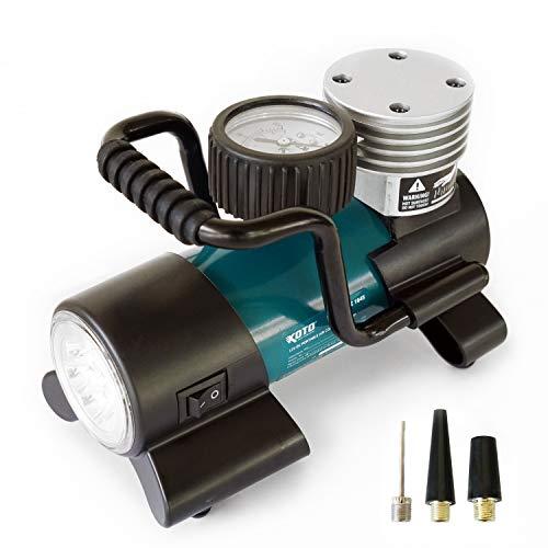 Koto 12V DC Air Compressor Pump, Ti…