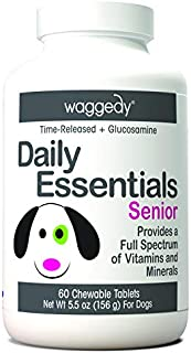waggedy Chewable Dog Vitamins for Every Life Stage: Puppy, Adult, Pregnant or Senior Dog Multivitamin Treats to Promote Im...