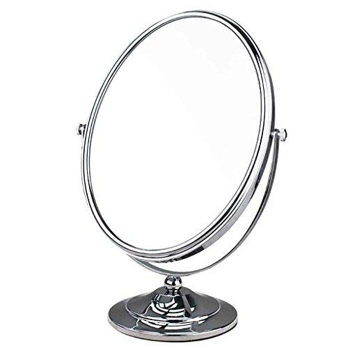 Double Miroir Ovale Bureau Maquillage Miroir Beauté Vanity Miroir HD Princesse Grand Elliptique Face Miroir 360 Degrés Tour Xuan - worth having