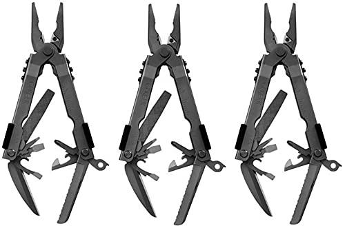 Gerber Gear 07550G1N Needle Nose Pliers Multitool 600 Multi-Plier, Black (3)