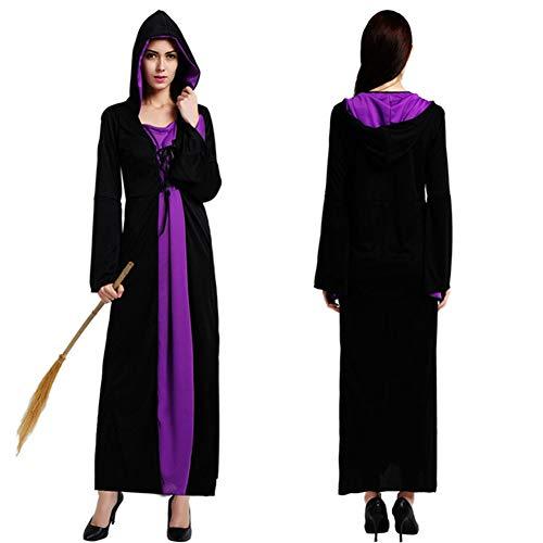 - Erwachsene Lila Kapuzen Robe Kostüme