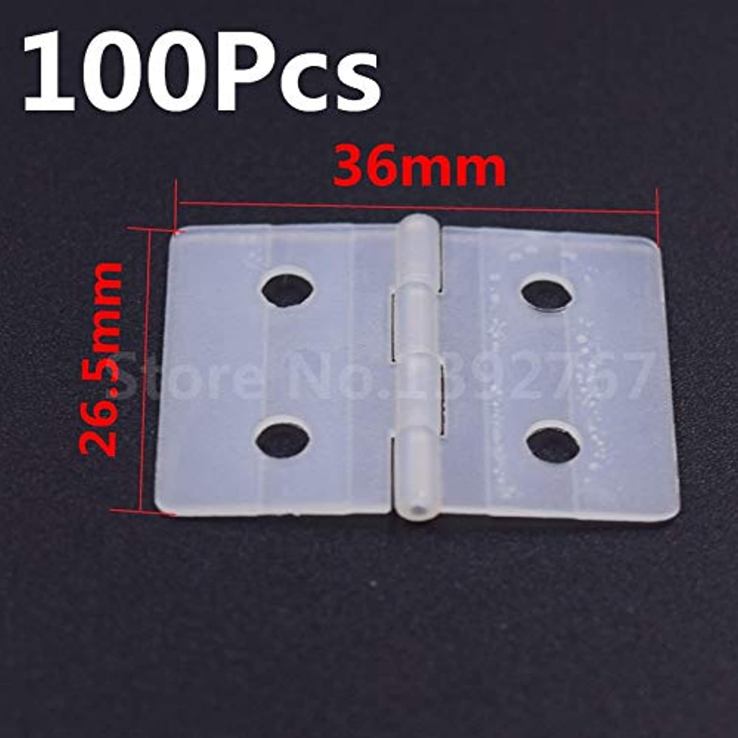 Generic 100Pcs FM12202 Nylon & Pinned Hinge L20 X W36mm 1628.5mm 26.536mm Flymodel RC Airplane RC Plane Remote Control RC Helicopter Size 3