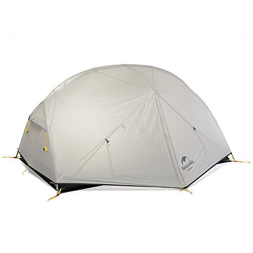 Naturehike Mongar Ultralight 20D Silicone Backpacking Tent 2 Person for Backpacking Cycling Hiking...