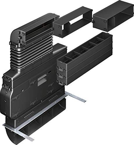 Bosch HEZ381501 Installationszubehör / Umluft Set / CleanAir Geruchsfilter / optimiert für schnellen Einbau / 100 mm Mindestsockelhöhe / bestehend aus 3 Arbeitsplattentiefenadaptern