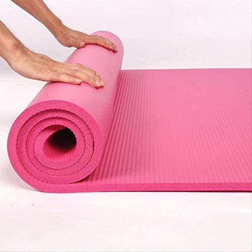 mengzhifei 60/80/90 cm Allungato ampliato nbr Antiscivolo Fitness Yoga Tappetino Ispessito 2 cm Danza