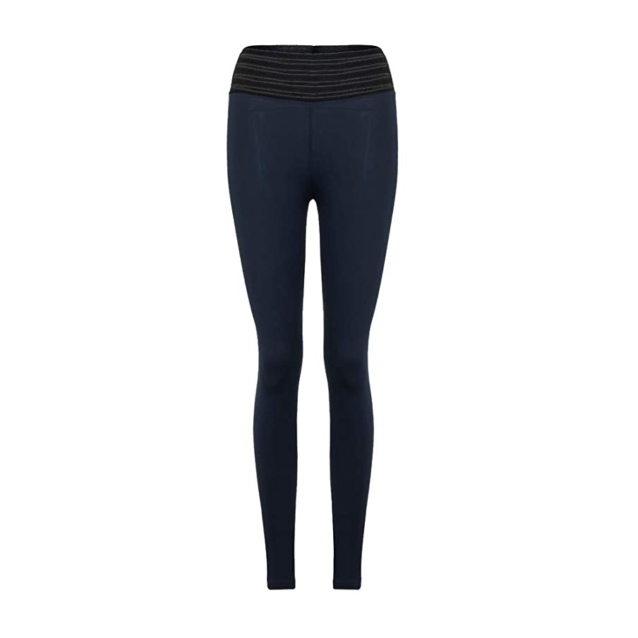 Women Leggings Fashion High Elasticity High Waist Gym Active Pleated Pants