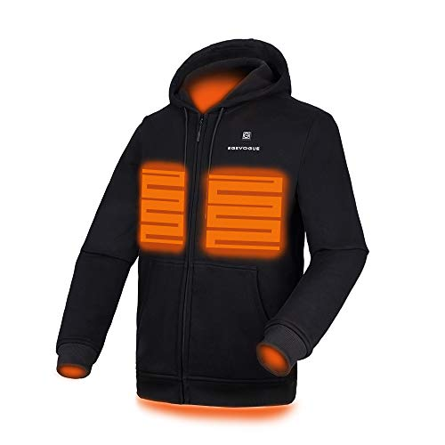 Gorich Heated Hoodie with Battery Pack (Unisex) Black