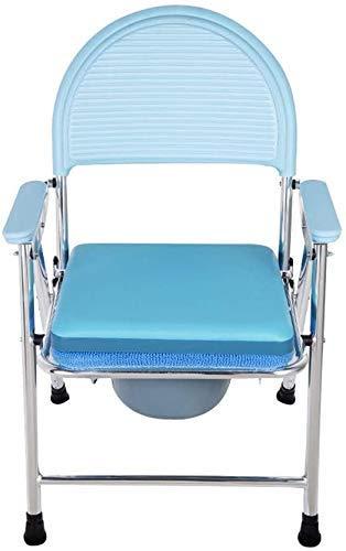 Z-SEAT Toilettenstuhl Drive Medical Commode Stuhl, Hochleistungsaluminiumrahmen, zusammenklappbar 2-in-1, sicher rutschfest