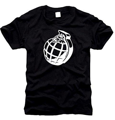 Handgranate Granate Bombe T-shirt Taille XL