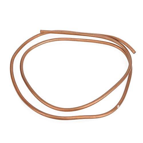 SHENG Shengyuan Pipes C1100 T2 - Tubo de cobre (2 m, para aire acondicionado, refrigerador, OD 8 mm, ID 6 mm)