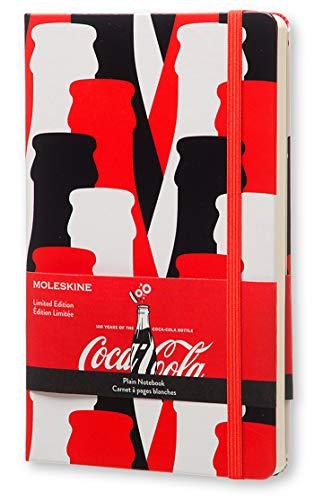 Moleskine 11482 - Cuaderno, diseño Coca-Cola - Moleskine® Coca-Cola Limited Edition Plain Notebook