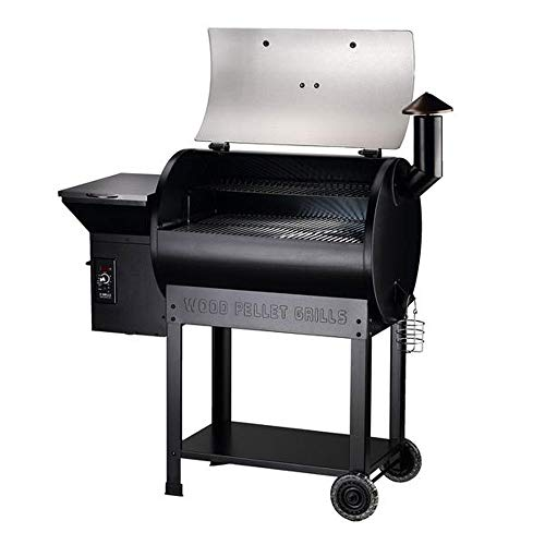 Z GRILLS ZPG-7002E 2020 Upgrade Wood Pellet Grill & Smoker, 8 in 1 BBQ Grill Auto Temperature Controls, 700 sq in Cooking Area, Silver(Cover,Oil Collector Included)