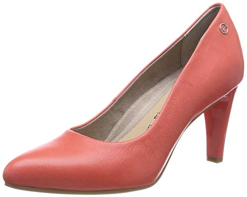 Tamaris Damen 1-1-22457-22 563 Pumps, Rot (Coral 563), 36 EU