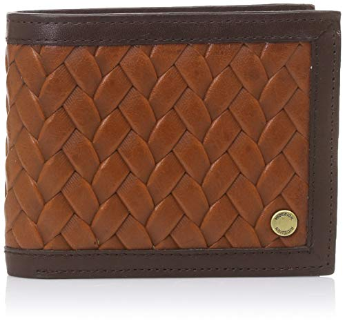 Hidesign Tan Men's Wallet (Hidesign EE 332-2020(RF) Mens Wallet-Tan)