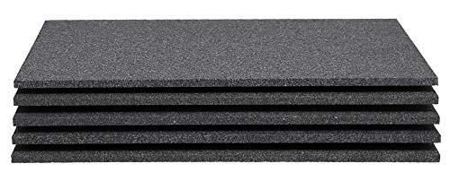 Sebutec Neopor Styroporplatten 1 cm - 5 Stück Maße 50x33cm