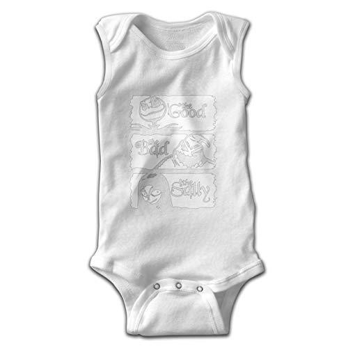 Bodysuits Nightmare Before Good, The Bad, The Sally - Camiseta de manga corta para bebé