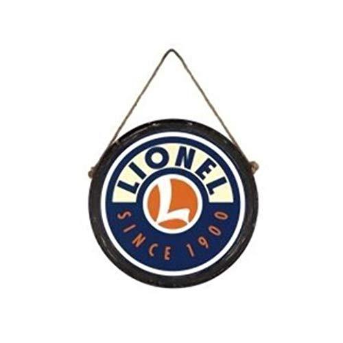 Lionel LNL942064 Round Wall Clock, Lionel 1900 Distressed Logo