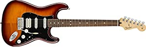 Fender Player Stratocaster HSS Electric Guitar - Pau Ferro - Tobacco Sunburst