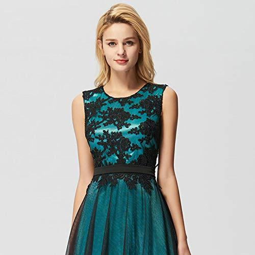BINGQZ Damen/Elegant Kleid/Cocktailkleider Real Photo SpitzeAppliques Lange Abendkleider preiswerte Abend-Partei-Kleid-Abend-Kleid Lange