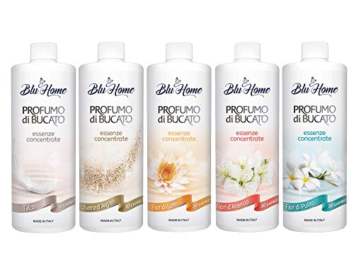 BLU HOME Wäscheparfüm Konzentriert (Sommer Kit, 5 x 100 ml)
