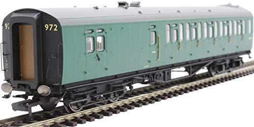 Hornby R4236C BR Ex LMS Corridor Brake 3rd Coach M5806M 00 Gauge